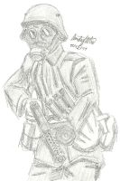 WWI German Stormtrooper by NDTwoFives