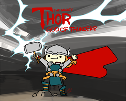 God Of Thunderp by Mayeko