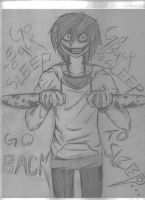 Jeff The Killer, Go Back To Sleep by Haven-Sollux