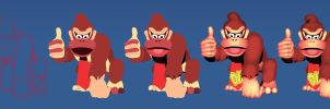 Donkey Kong - Process by MatiZ1994