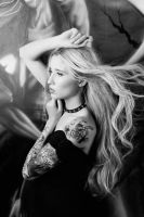 Kristina At Rowes tattoo 2 by BuDWiZe