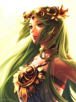 Goddess Palutena by bellhenge