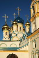 Evening. Church in Moscow by Nickdan
