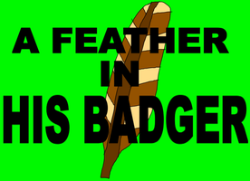A Feather in his Badger by adamRY