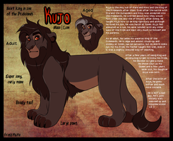Kujo Official Reference Sheet by Lluma