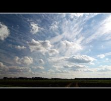 Big Sky In The Heartland by Vividlight