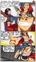 KAMINA THE DENTIST by RakkuGuy