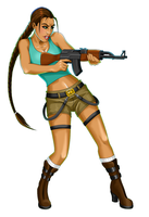 Tomb Raider Lara Croft by White-Rose-At-Mornin