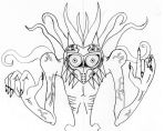 Legend of Zelda - Majora [Scetch] by X2theD