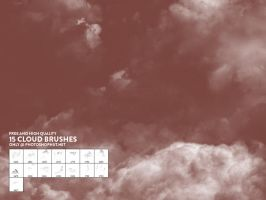 15 Fantastic and Free Cloud Brushes for Photoshop by photoshophut