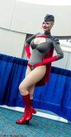 Red Son Power Girl 1 by Insane-Pencil