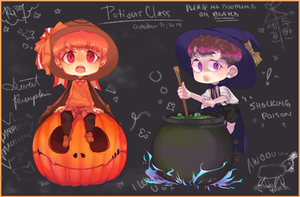 Potions Class by rahaina