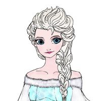 Elsa by halfblood-donut