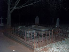 Tombstones in the night by re--creation
