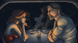 Supper by the Stars by Sgt-Sahara