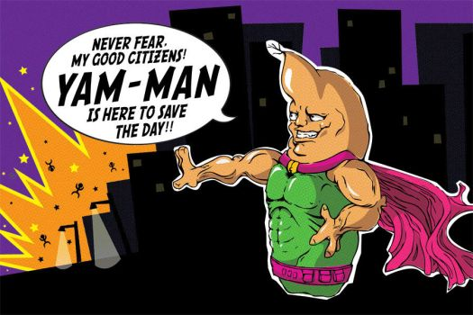 Yam-Man...RETURNS by alphabetoes
