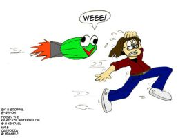 Fooby Chasing TVsKyle by Cartoon-Eric