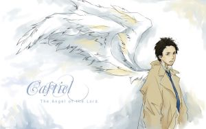 Castiel by luthienelf