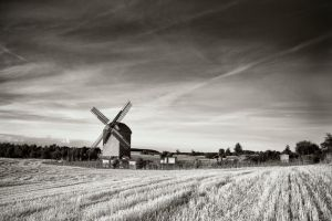 windmill by BelcyrPiotr