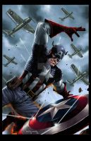 Captain America : First Avenger colors by spidey0318