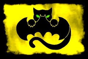 CatBat Symbol Colored by blackpanther1307