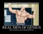 Real Men Of Genius - Armstrong by grimmjack