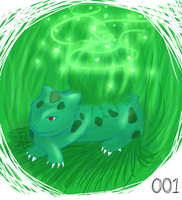 001 - Bulbasaur by JarofVikings