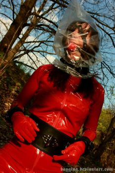 Gagged and bagged in the forest II by bagging