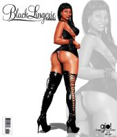 Black Lingerie Fake Cover 06 by giolove1