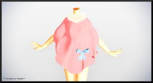 Pink Cape Coat- DL by MichiKairin