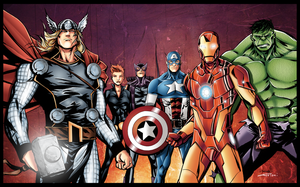 The Avengers by Furlani