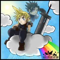 FF VII - Cloud and Zack by NaguX