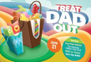 Treat Dad Out by Quiccs