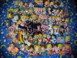 Sailor Moon Plush Collection by MoonLainSerenity