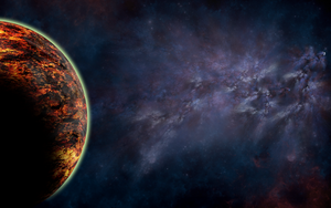 Planetary Desktop by Cydonian-Spider