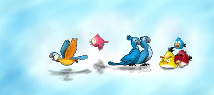 Angry Birds by DianaBelka