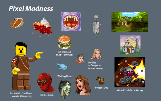 PixelMadness by Biffius