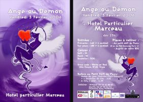 flyer ange et demon by ouissla