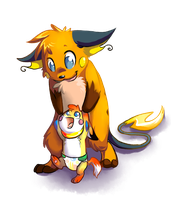 Our first steps by homa-Nix