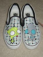 Painted Gir Shoes by smlfry90