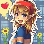 Commission: Hylian Harvest Moon by Zellie669-commishes
