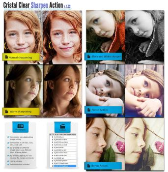 Cristal Clear Sharpen Action by duelord