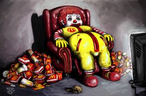 Ronald Mcdonald by BnW-JACK