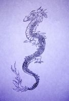 Dragon chinois by Cassyblue
