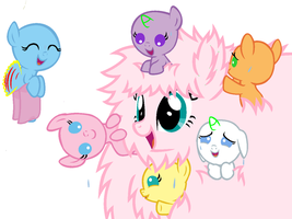 Party with Fluffle Puff Pony-Base by 101PandaManiac101