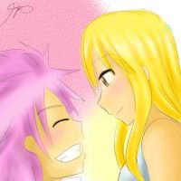 NaLu: Bring a smile to your face by BlueMae98