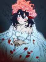 Ryuko Matoi in Wedding Dress (KILL la KILL) by RekaVM