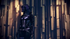 Mass Effect 3 Tali Custom Wall Dreamscene by droot1986