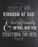 Seek the Kingdom of God by misskat345