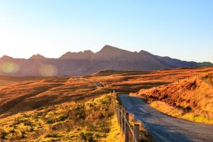 Morning to Cuillins Hills by Crabinoid